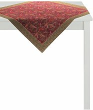 Indian Summer Tablecloth Apelt Colour: Red