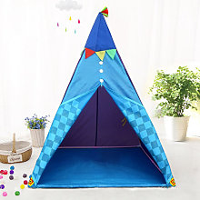 Indian Teepee Tent Kids Play House Folding Indoor