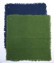 Indigo & Wills - Linen Napkins - olive | 45x45cm -