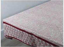 Indigo & Wills - Red Leaf Tablecloth - 180cm |