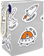 Indimization Astronaut Rocket Ufo laundry bin