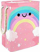 Indimization Cartoon Rainbow Lovely laundry bin