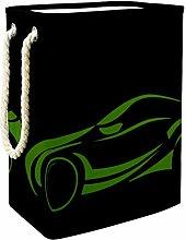 Indimization Green Line Car laundry bin Oxford
