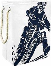 Indimization Motorcycle Racing laundry bin Oxford