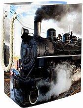 Indimization Steam Locomotive laundry bin Oxford