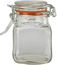 Indispensable Kilner Clear Glass Square 70Ml Spice