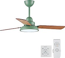 Indoor Ceiling Fan with LED Light 55-Inch Remote