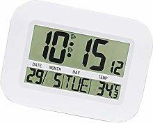 Indoor Desktop Digital Clock Thermometer Wall