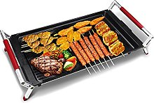 Indoor Electric Grill, Fast Heating BBQ,Smokeless