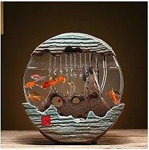 Indoor Fountains Home Aquarium Living Room Water