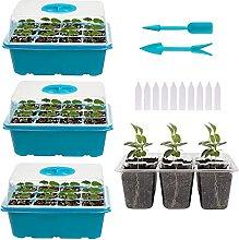 Indoor Greenhouse Propagation Set, 3 Pack Mini