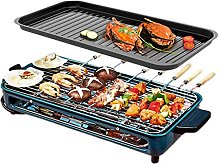 Indoor Grill Electric Nonstick BBQ Grill, Temp