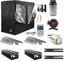 Indoor Grow Tent Kit Complete Dimmable Light Kit