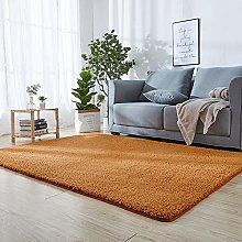 Indoor or Outdoor Garden Rug 40 x 140 cm Yellow