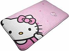 Indoor Outdoor Doormat Hello Kitty Pink Shoes