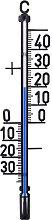 Indoor/Outdoor Thermometer Technoline