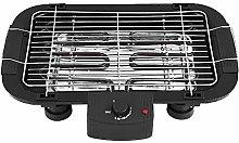 Indoor Smokeless Electric BBQ Grill 5 Level Adjust