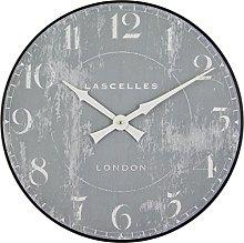 INDOOR WALL CLOCK LASCELLES GREY - 36CM