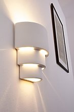 Indoor White Wall Light with Great Shadow Effects,