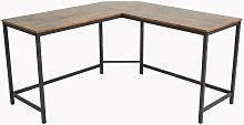 Industiral design L-shape computer desk