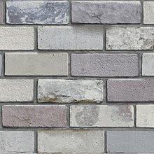 Industrial Brick 10m x 53cm Wallpaper Roll East