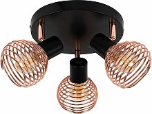 Industrial Ceiling Lights Copper Lighting - Add