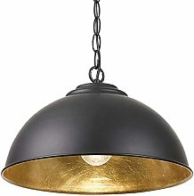 Industrial Ceiling Pendant Light – MATT Black &