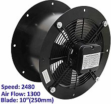 Industrial Duct Fan Cased Axial Commercial Kitchen