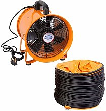 Industrial Extractor Portable Ventilator Air Axial