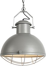Industrial hanging lamp gray - Engine