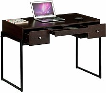 Industrial Look Table or Desk with Drawers for