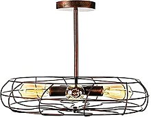 Industrial Metal Ceiling Lamp Retro Vintage E27