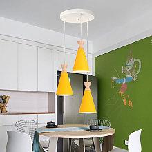 Industrial Pendant Lamp 3 Lights Nordic Design