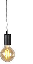 Industrial Pendant Lamp Black - Facil 1