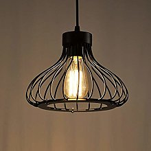 Industrial Retro Cage Ceiling Pendant Light,