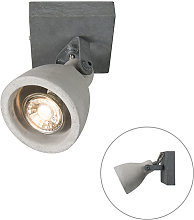 Industrial spot gray concrete 1-light - Creto