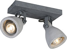 Industrial spot gray concrete 2-light - Creto