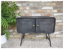Industrial Style Metal Freestanding Cabinet with