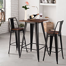 Industrial Style Metal High Table Kitchen