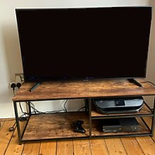 Industrial Style Tv Cabinet Media Storage Unit