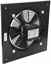 Industrial Ventilation Metal Fan Axial Commercial