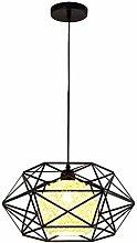 Industrial Vintage Style Ceiling Light Semi-Flush