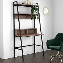 Industrial Walnut Ladder Desk - Arden