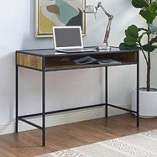 Industrial Wood Office Desk - 42