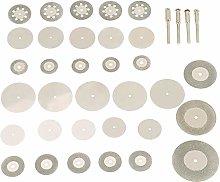 IndustrialMaker 37pcs Stainless Steel Diamond