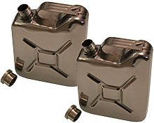 Inet-Trades Set of 2 170ml Flask Gas Canister