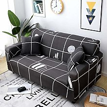 INFANDW Sofa Cover 1 2 3 4 Seater Pattern printing
