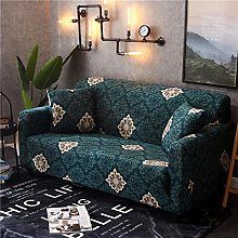 INFANDW Stretch Sofa Cover 1 Seater Pattern