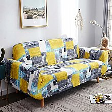 INFANDW Stretch Sofa Cover 2 Seater Pattern