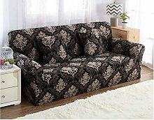 INFANDW Universal Elastic Armchair Cover, Black